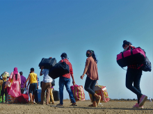 Two-thirds of migrants either back in cities or wish to return, says survey