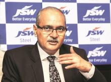 Seshagiri Rao, joint managing director, and group chief financial officer of JSW Steel