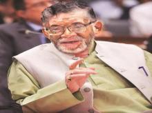 Labour and Employment Minister Santosh Kumar Gangwar