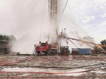 Oil India, gas blowout