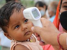 Coronavirus, child, testing