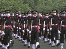 Passing out parade, Indian army