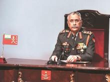 Indian Army, Chief of staff, general, Army Chief Gen M M Naravane