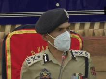 IG Police Kashmir, Vijay Kumar