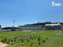 England cricket team. Photo: @englandcricket