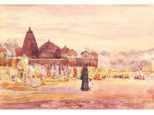 A painting by D C Joglekar