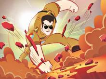 salman khan, animation, dabangg