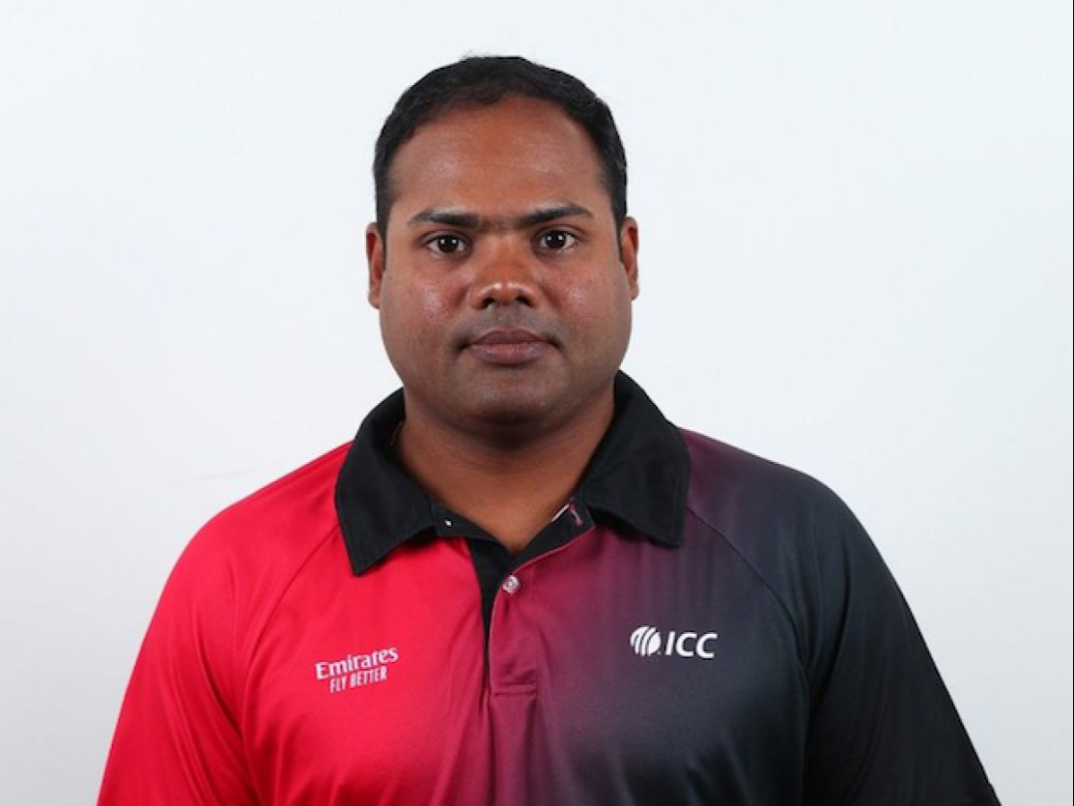 India's Nitin Menon becomes youngest umpire to enter ICC's Elite ...