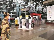 delhi airport, coronavirus, passengers, air travel