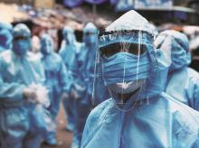 ppe, suit, protective equipment, coronavirus, covid, doctors, nurses, medic, health worker