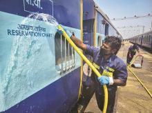 indian railways, coronavirus