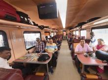 indian railways, trains, coaches, passengers