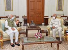 Narendra Modi Ram Nath Kovind