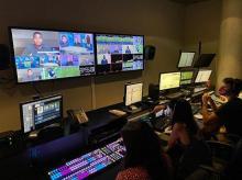MEDIAPRO's control room
