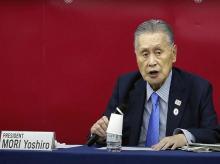 Tokyo 2020 Organizing Committee President Yoshiro Mori
