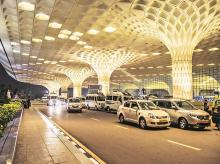mumbai airport, CSIA, MIAL, T2