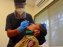 Coronavirus, police, maharashtra, covid, tests