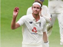 Stuart Broad, England cricket team. Photo: @Englandcricket