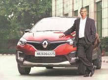 Venkatram Mamillapalle, managing director, Renault India
