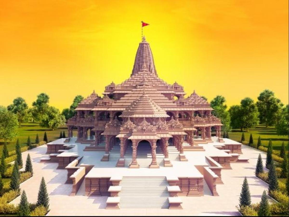 Ram Mandir Trust purchases 1.15 lakh square feet of land in Ayodhya   Business Standard News
