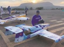 Bombay Flying Club, drones