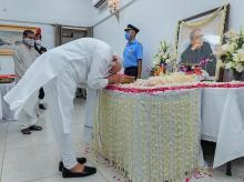 Pranab Mukherjee funeral