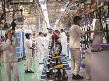 hero motocorp, two-wheeler, 2-wheeler sales, auto, manufacturing, bike, production, workers, jobs