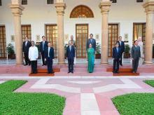 ASEAN Ambassadors meet Harsh Shringla