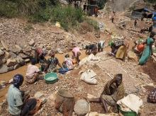 GOld mine collapse in D R Congo
