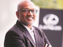 P B Venugopal, President,  Lexus India