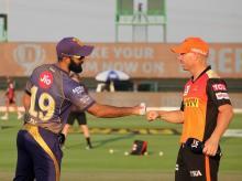 KKR vs SRH, IPL 2020, Warner, Karthik
