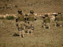 Armenia army, soldiers