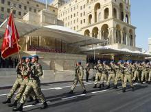 Azerbaijan army, soldiers