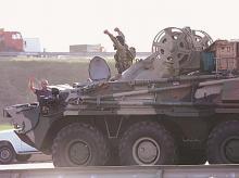 Azerbaijan, tanks, armoured carrier, Armenia