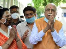 LK Advani, Babri mosque demolition case