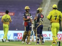 IPL 2020, CSK vs KKR, Rahul Tripathi, Shubman Gill