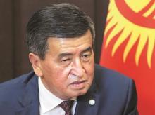 Kyrgyz President Sooronbai Jeenbekov
