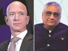 Jeff Bezos, Kishore Biyani