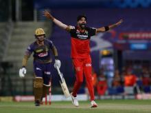 Mohammed Siraj, IPL 2020, RCB vs KKR