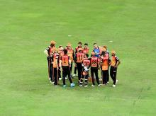 Sunrisers Hyderabad. Photo: Sportzpics for BCCI