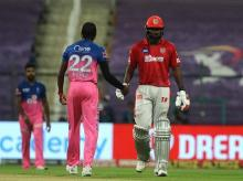Chris Gayle, KXIP vs RR