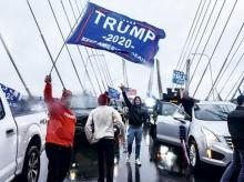 Trump supporters, US protests, US Elections