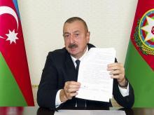 armenia, Nagorno-Karabakh, Azerbaijan, Azerbaijani President Ilham Aliyev