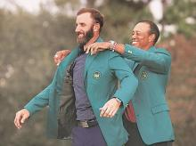 Tiger Woods, Dustin Johnson, Golf, Masters Tournament