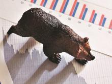 Sensex ends at day's low, down 746 pts ; Bajaj Auto jumps 11%; RIL down 2%
