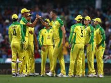 Australia cricket team. Photo: @BCCI