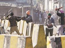 Protests, Farmer protests, clashes