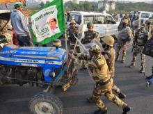farmers protest
