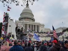 US Capitol, United states, donald trump supporters