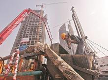 real estate, realty, construction, sales, people, flats, buildings, concrete, vendors, developers, builders